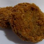 肉のヤマキ商店 - 肉屋のメンチカツ220円