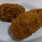 肉のヤマキ商店 - コーンコロッケ150円