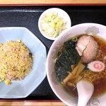 中村ラーメン - 料理写真:小チャーハン+小ラーメン