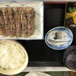金沢食堂 - アジタタキ定食(800円)
