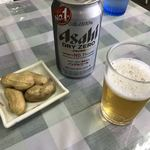 金沢食堂 - ノンアルコールビールと煮落花生