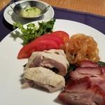 ホテルオークラレストラン三鷹 チャイニーズガーデン 桃亭 - 3種前菜盛合せ(ハーフ)