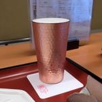 串処 最上 - 生ビール