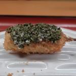 串処 最上 - 鶏のしそ巻き