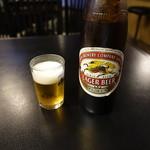 小判寿司 - ドリンク写真:瓶ビール(600円)