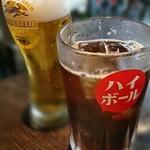 92433788 - コークハイ&生ビール