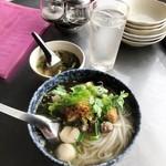 92437065 - 「クウェティオ ナーム(汁あり麺)」(840円)