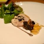 グランド キッチン - 大山鶏モモ肉とヨーロッパ産茸のバロティーヌ