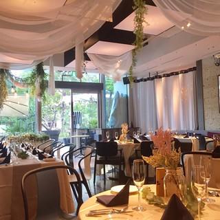 結婚式2次会、ウェディングパーティーにも最適なリゾート空間!