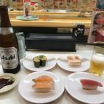 かっぱ寿司 - 瓶ビール他
