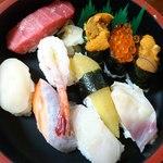 9244534 - とも恵寿司(1500円)2011年8月。