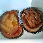 ローズマリー - 左:プチハート、右:リンゴの恋人