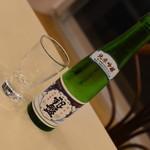 サクラカフェ - 世界のビール飲み放題(2,000円)の『銀盤 純米吟醸(560円相当)』2018年9月