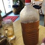 味の大西 - サービスの杜仲茶