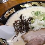 ぎょらん亭 - どろラーメン 700円