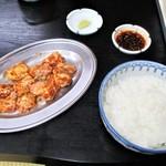 焼肉山ちゃん - 牛ホルモン 特製味噌 450円 × 2 = 900円(税込)。      2018.09.09