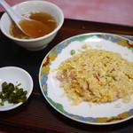 らいらい飯店 - 五目炒飯ハーフ¥400
