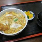 海鮮、定食、天ぷらと酒 舟源 - カツ丼(\800)