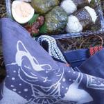 アイリスパーク奥熊野温泉 女神の湯 - 料理写真:朝食のぶんの、めはり寿司