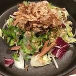 かこいや - 燻カツオのゴーヤ菜鉢