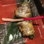 かこいや - 太刀魚アスパラ巻き