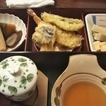 寿司遊膳さおとめ - 煮物、天婦羅、焼き物♪