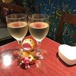 小皿キッチン ココロ - ワインで乾杯♪