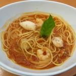 ココス - 料理写真:魚介のスープスパゲッティ