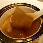 敦煌 - フカヒレとずわい蟹肉入りスープ