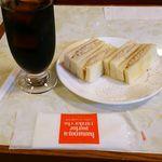 はまの屋パーラー - モーニング500円