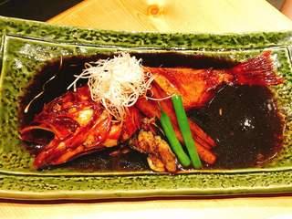 青ゆず 寅 - きんき煮付 2,500円