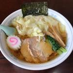 海 - 料理写真:【ワンタンめん…800円】◎2018/8