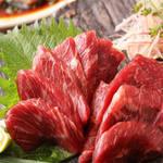 肉×魚×日本酒 照 - 『馬刺し』