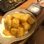 晴レル屋 - とうもろこしの天ぷら
