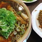 新福菜館 - 中華そば・ヤキメシ小セット♪