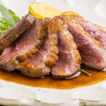 カデルムーロ - フランス産鴨ロースのオーブン焼き