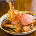 カデルムーロ - 宮城産渡り蟹のスパゲッティ