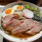つぼ茶屋食堂 - ラーメン 600円