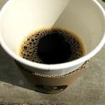 フラット ホワイト コーヒー ファクトリー - 水出しアイスコーヒー 氷無し!