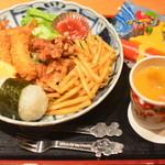 日本海庄や - お子様ランチ2