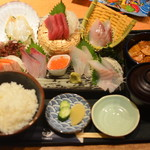 日本海庄や - 豪快!刺身定食