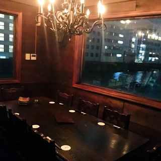 【夜景の見えるVIP個室】接待や大切な方との宴席に