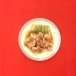 うさぎ食堂 - 茹で豚の葱ソース