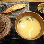 92479720 - キングサーモン西京漬け定食