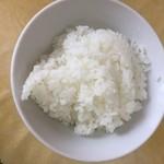 中華料理 華連 - ライス普通盛り