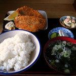 味美食堂 - アジフライ定食