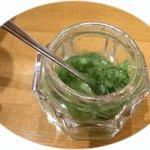 中華そば 鈴木 - 柚子胡椒。