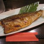 魚菜亭 - 鯖の塩焼き