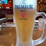 92481575 - 生ビールはプレミアムモルツ490円
