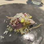 食堂セゾンドール - 料理写真:五島ハガツオのマリネ